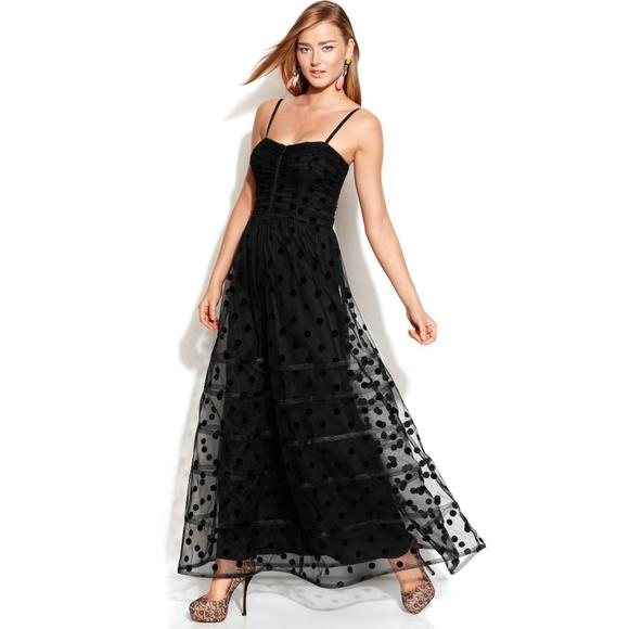Betsey Johnson Dresses & Skirts - Betsey Johnson Polka Dot Mesh Party Cocktail Dress